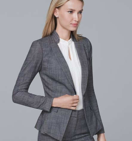 Peplum Suiting Blazer Jacket