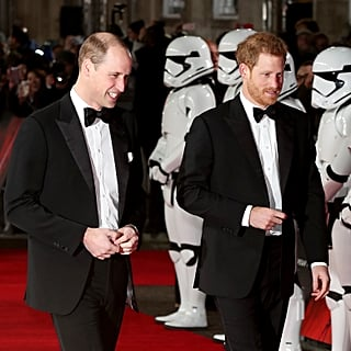 Star Wars Deleted Scene With Prince Harry and Prince William