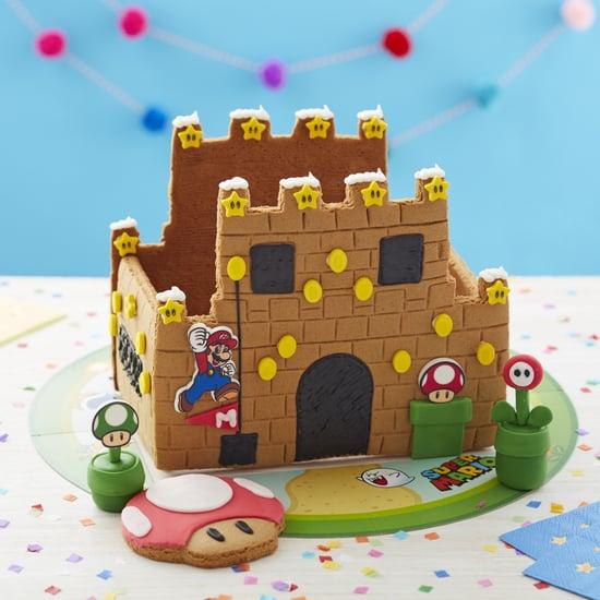 Shop the Nintendo Super Mario Gingerbread Cookie Castle Kit