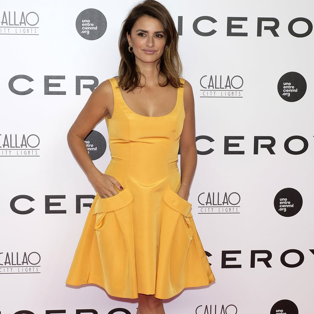 Penelope Cruz Wearing Carolina Herrera September 2016