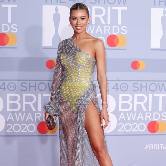 Montana Brown and Normani's Rami Kadi Gown at the 2020 BRITs