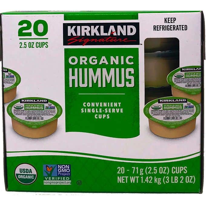 Single-Serve Hummus