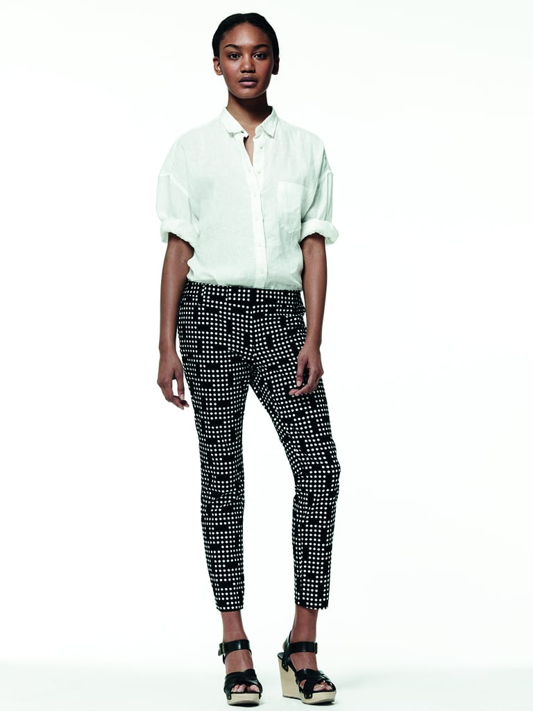 We think this is the perfect way to marry Summer's easiness with an office-chic ensemble.
