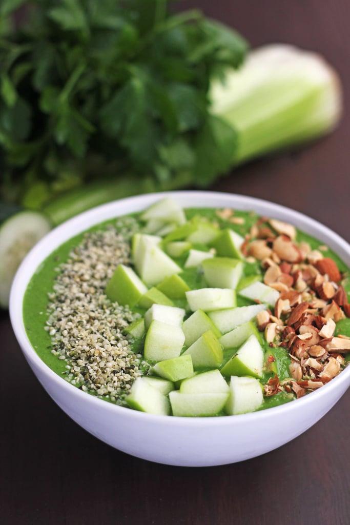 Savory Green Smoothie Bowl