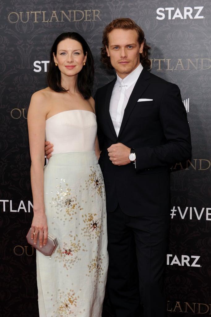 Outlander Cast Red Carpet Photos April 2016