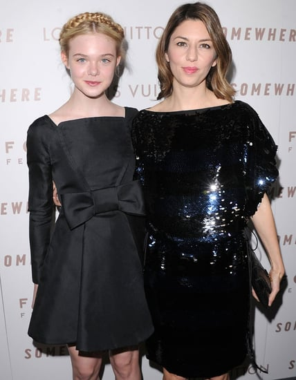 Pictures of Elle Fanning, Sofia Coppola, and Stephen Dorff at the LA Premiere of Somewhere 2010-12-08 14:00:00