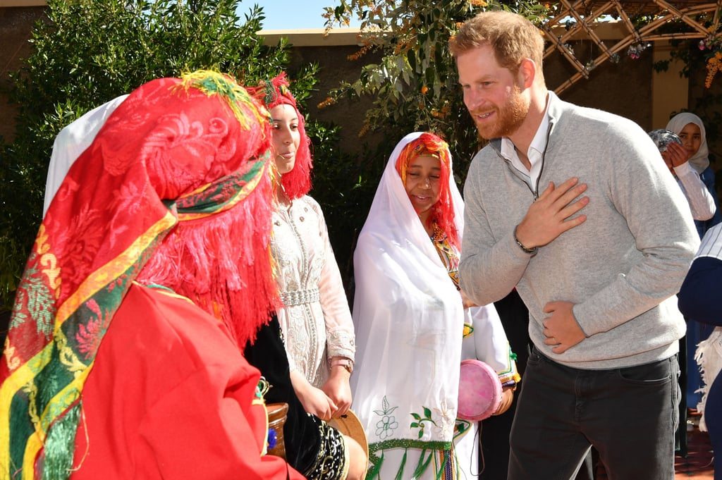 When He Interacted With These Moroccan School Girls