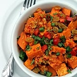Entrée: Spicy Sweet Potato Salad