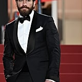 Jake suited up for the Cannes Film Festival in May 2017.