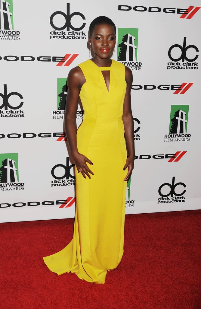 Lupita Nyong'o at the Hollywood Film Awards