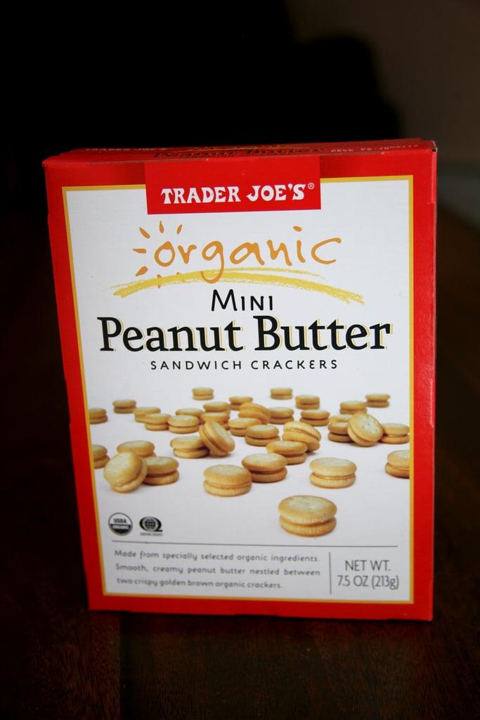 Organic Mini Peanut Butter Sandwich Crackers