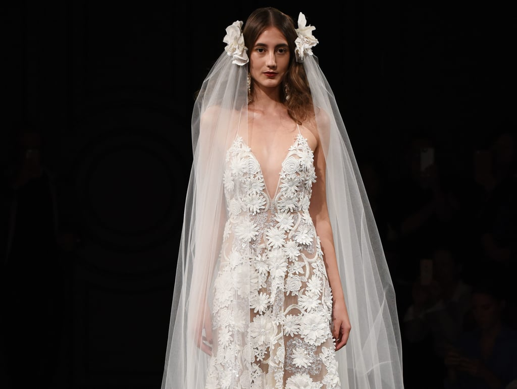 Wedding dresses at bridal fashion week autumn winter 2017 for Winter style wedding dresses