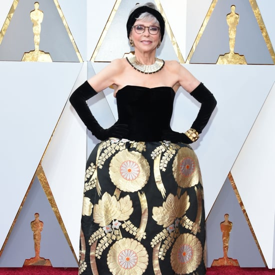 Rita Moreno Dress Oscars 2018