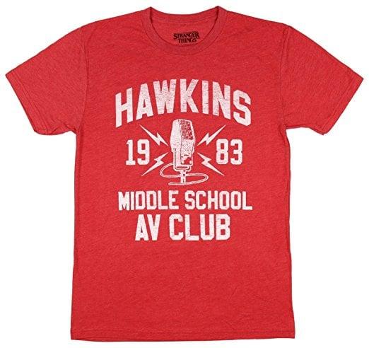 Hawkins Middle School AV Club T-Shirt
