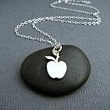 Tiny Apple Necklace
