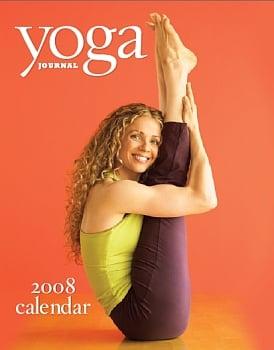 Get Organized With the '08 Yoga Journal Calendar