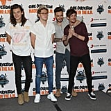 One Direction at a Mexico City Press Conference in 2015