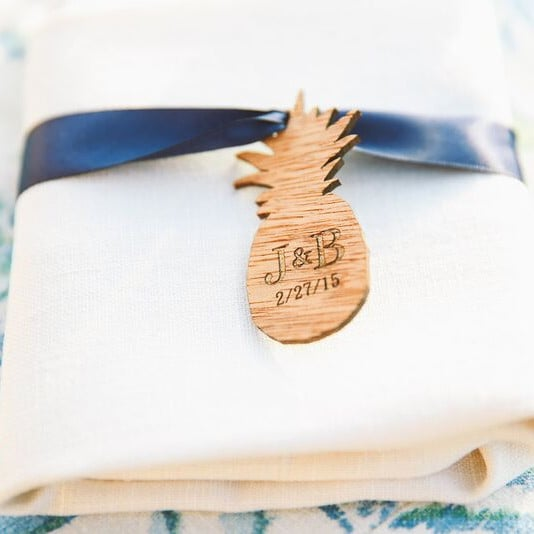 DIY Custom Wedding Details