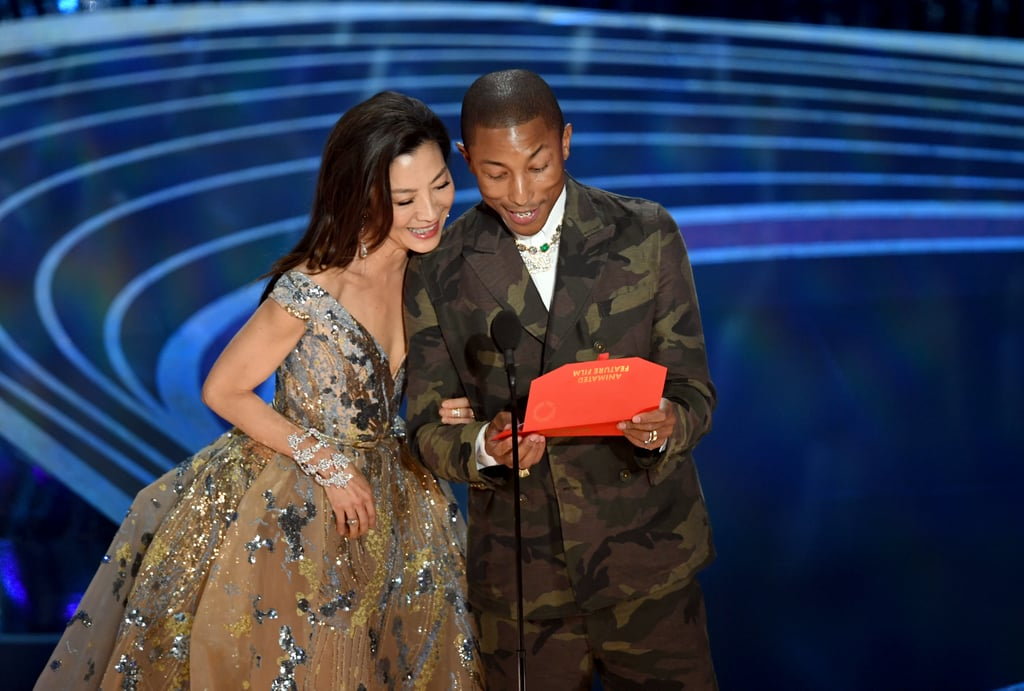 Pictured: Michelle Yeoh and Pharrell Williams | Best ...