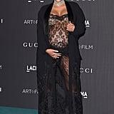 Kim Kardashian at the LACMA Art + Film Gala in 2015