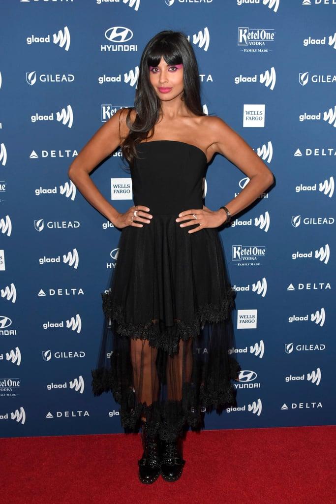 Jameela Jamil's Dress at GLAAD Media Awards 2019