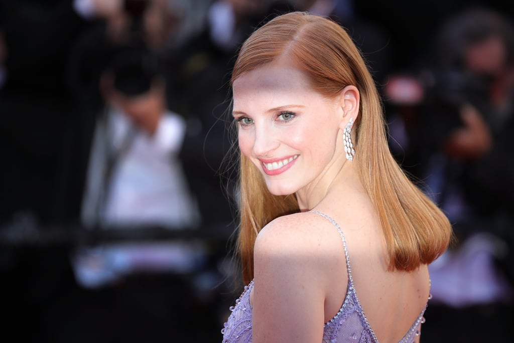 Jessica Chastain Natural Hair Colour