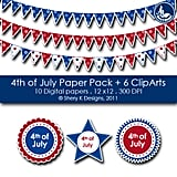Fourth of July Paper Pack ($1.50)