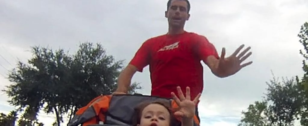 This Dad Shattered 2 World Records For Running With a Stroller
