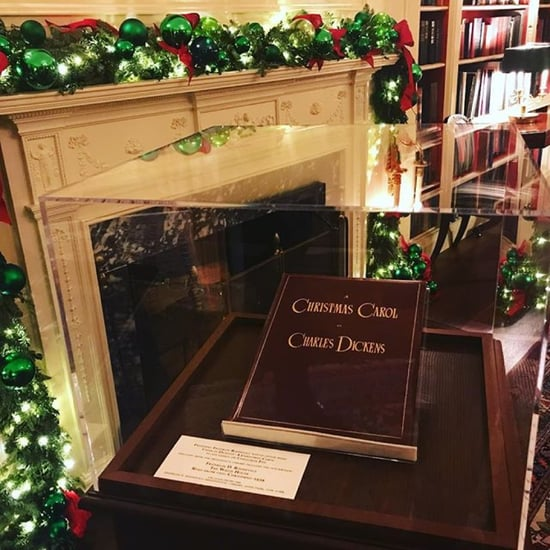 Sean Spicer's Christmas Carol Songs Instagram December 2017