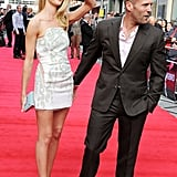 Jason Statham and Rosie Huntington-Whiteley Feel the Love in London