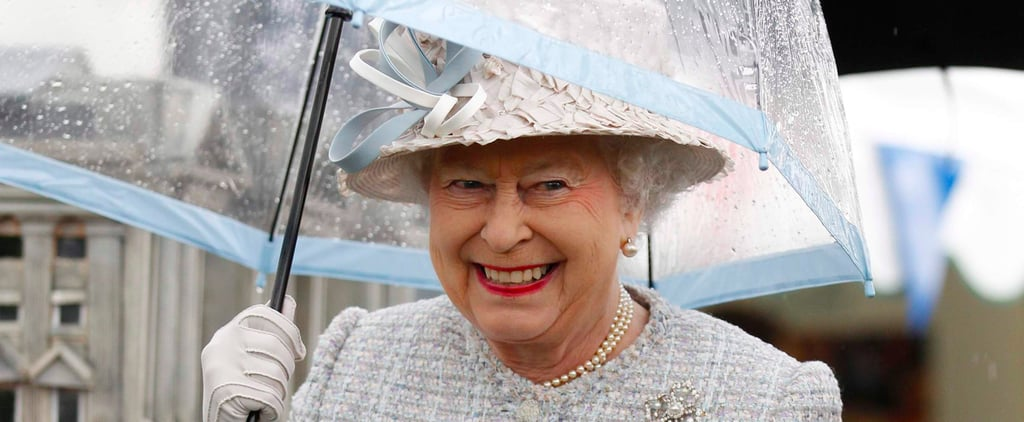 Even The Queen's Umbrellas Match Her Outfits