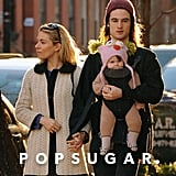 Sienna Miller and Tom Sturridge spent part of their afternoon strolling with their daughter, Marlowe, in NYC.