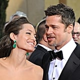 Angelina Jolie und Brad Pitt bei den Oscars 2009.