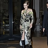 Gigi Hadid's Street Style at Milan Fashion Week