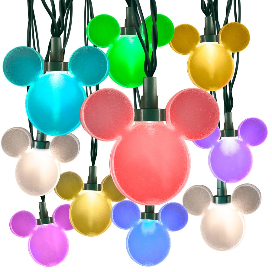 disney lightshow mickey mouse string lights - Mickey Mouse Christmas Lights