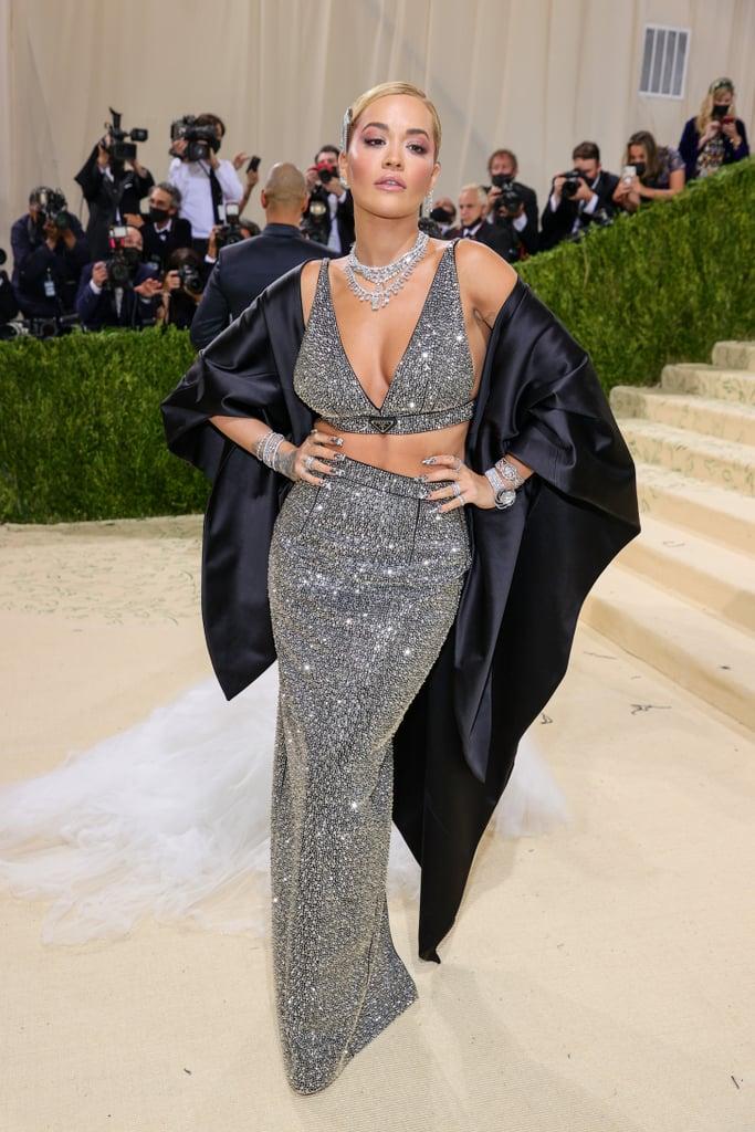 Rita Ora at the 2021 Met Gala