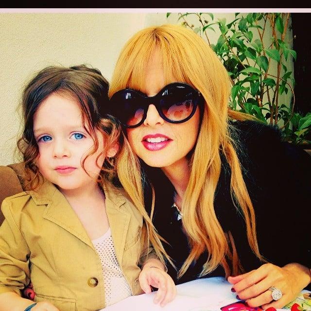 Rachel Zoe Genius Décor Ideas From Instagram: Rachel Zoe Enjoyed Sunday Brunch With Skyler.