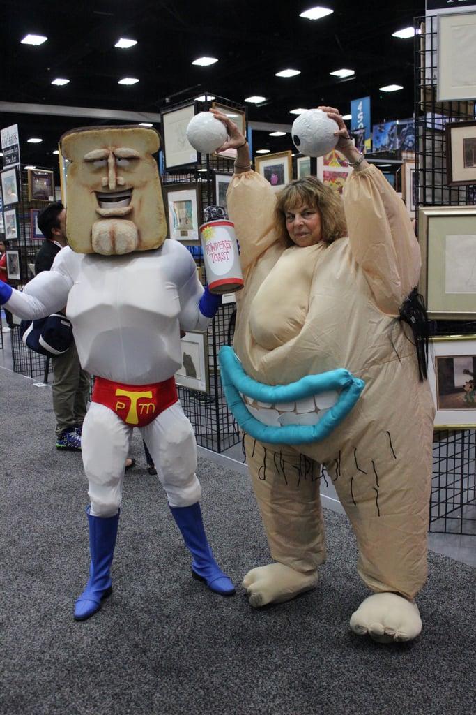 Powdered Toast Man and Krumm