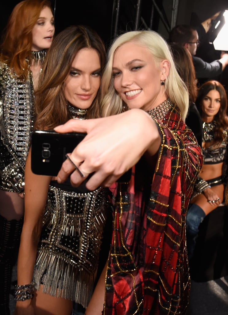 Pictured: Alessandra Ambrosio and Karlie Kloss