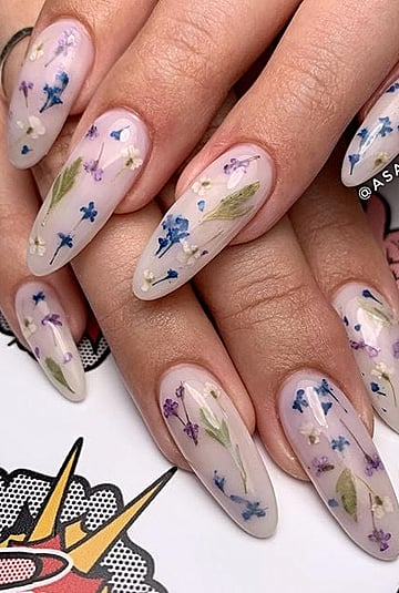 What Are Milk Bath Nails?