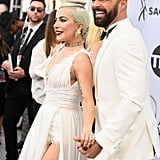 Lady Gaga and Ricky Martin at the 2019 SAG Awards