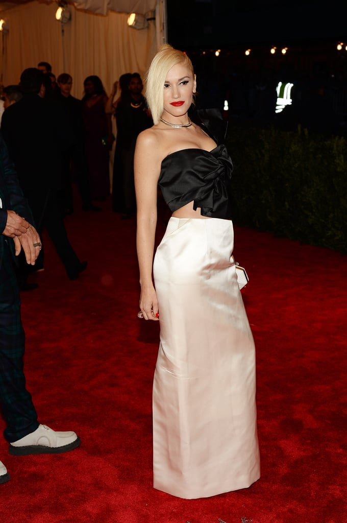 Gwen Stefani at the Met Gala 2013.