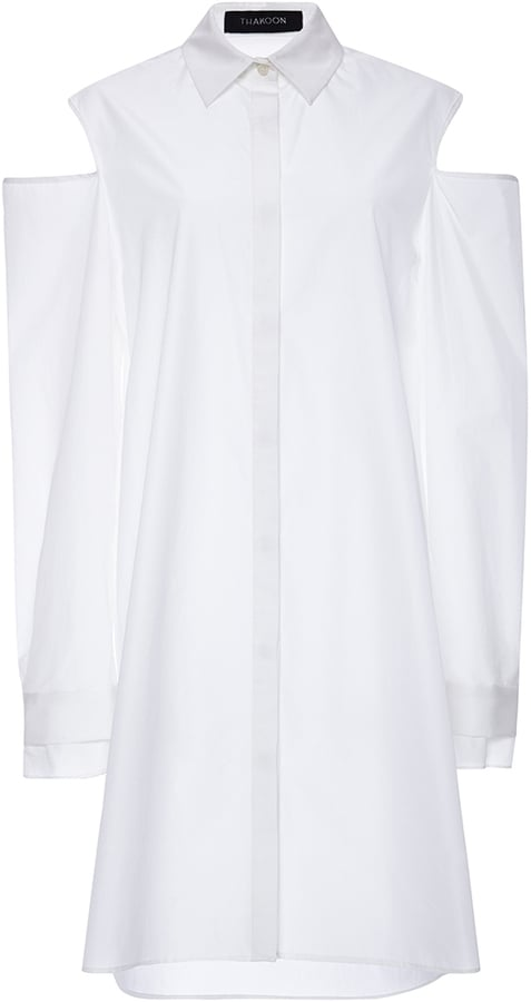 Thakoon Cotton Shirting Long Sleeve Shirt ($529, originally $1,150)