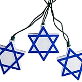 10-Light Hanukkah Star of David String Lights ($40)