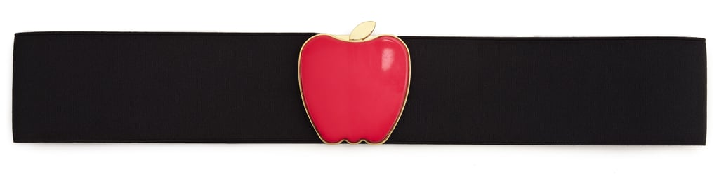 In a city with a heavy focus on fashion, feel free to push the style boundaries with picks like this apple-accented belt. Photo courtesy of Kate Spade New York