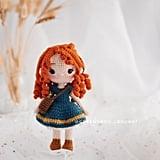Disney Princess Doll Crochet Pattern — Merida