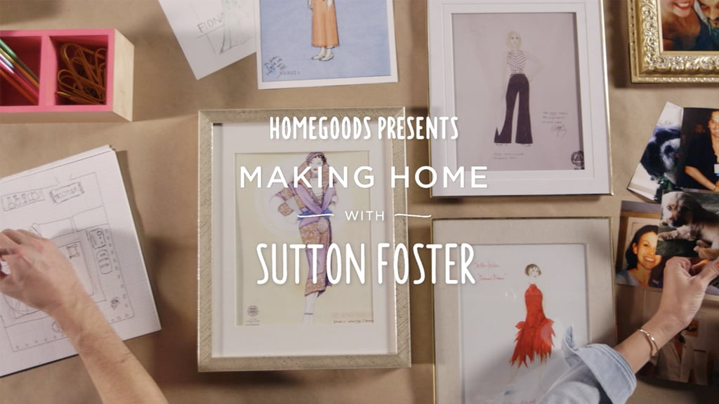 Check out how Sutton and Julien made her dressing room feel like home!