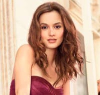 Leighton Meester in Vera Wang Lovestruck Fragrance Ad Campaign