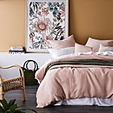 Our Picks From Adairs' Click Frenzy Mayhem: Home Republic Vintage Washed Linen Nude Pink Quilt Cover