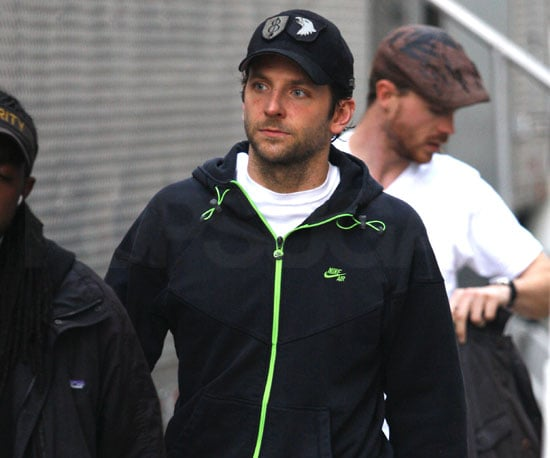 Slide Picture of Bradley Cooper Filming The Dark Fields